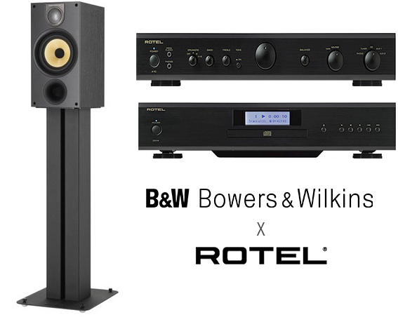 B&W Rotel RP1 bundle offer