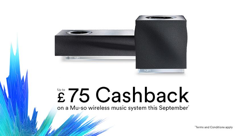Naim Mu-so £75 cashback
