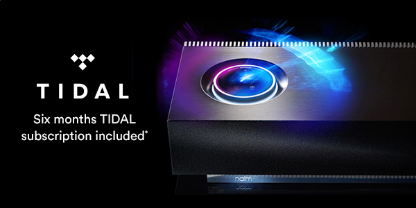 Naim Audio free TIDAL offer