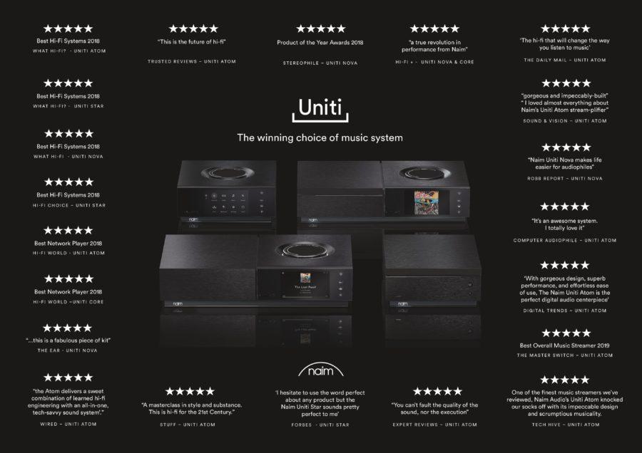 Naim Audio uniti range