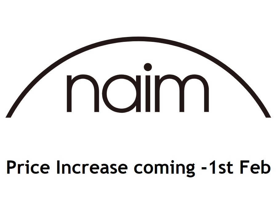 Naim Audio price increase