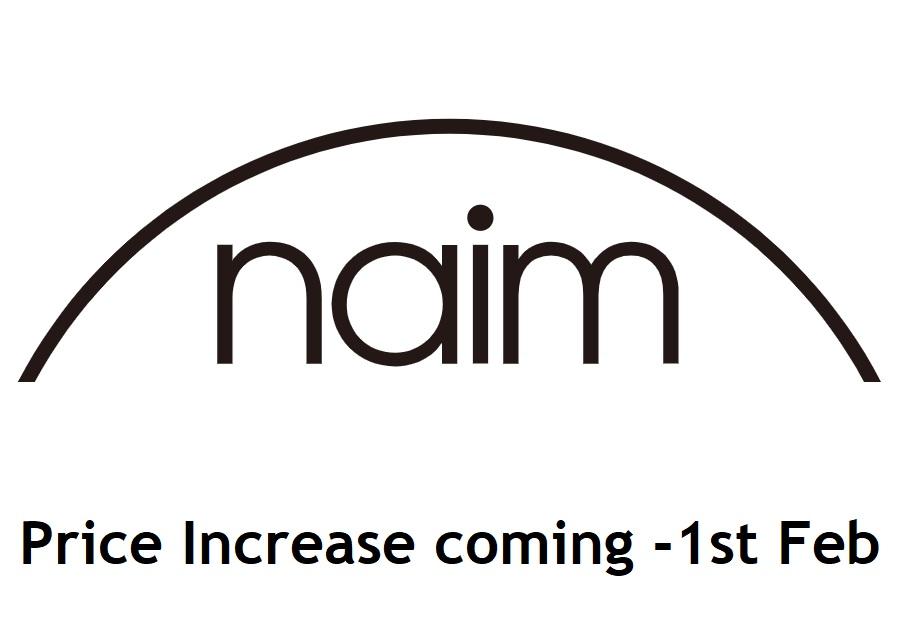 Naim Audio price increase