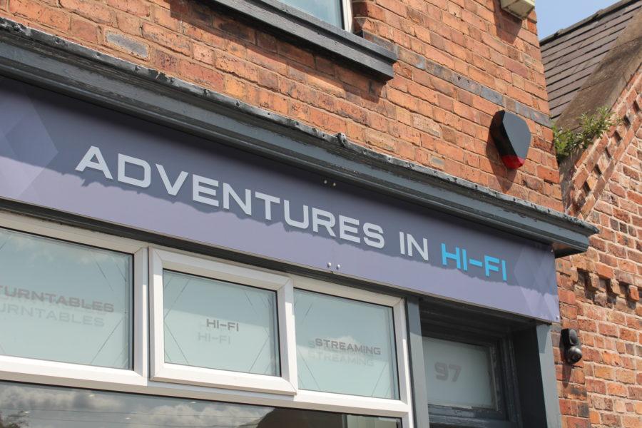 Adventures in HiFi shop front