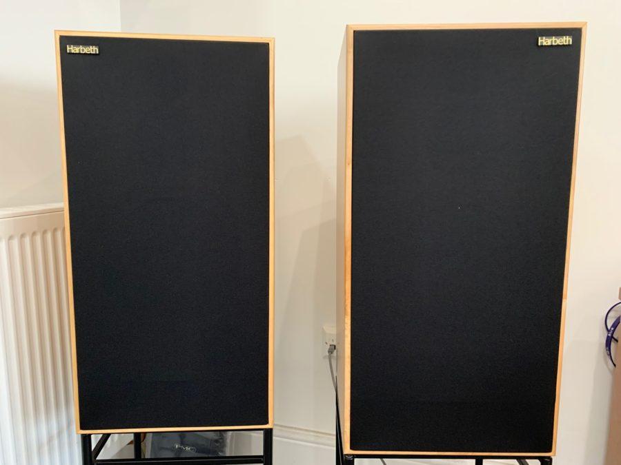 Harbeth Super HL5 Plus loudspeakers