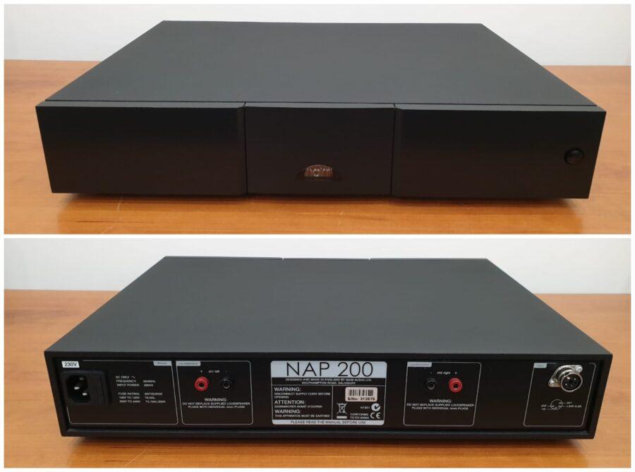 Naim Nap 200 power amplifier