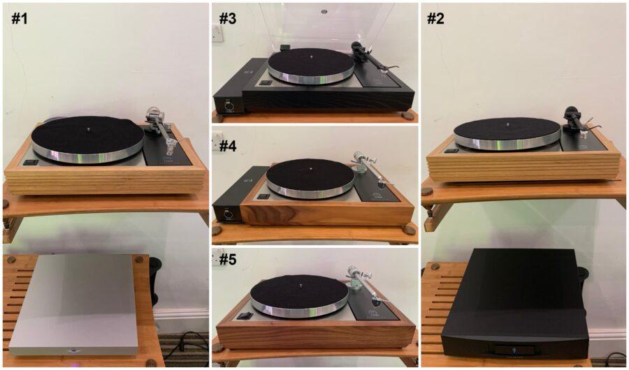 Five levels of Linn LP12
